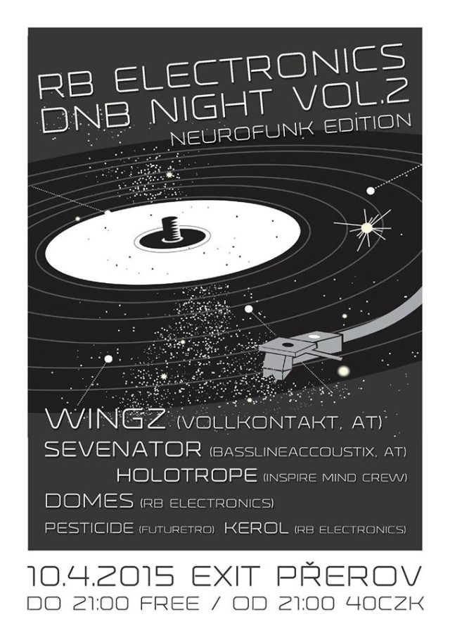 RadioBlunt Electronics DnB Night v Přerově !!