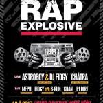 Rap Explosive a RadioBlunt