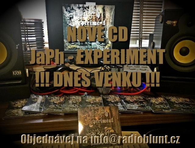 CD JaPh – EXPERIMENT DNES VENKU !